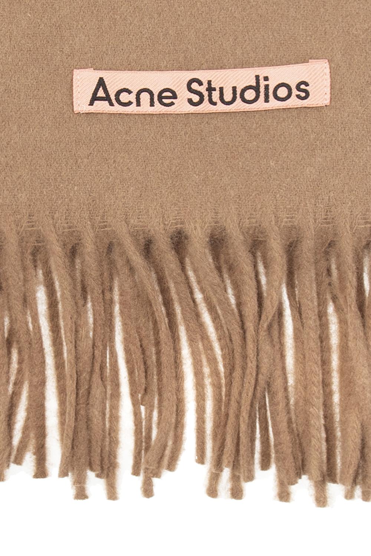 Acne Studios Scarf with logo