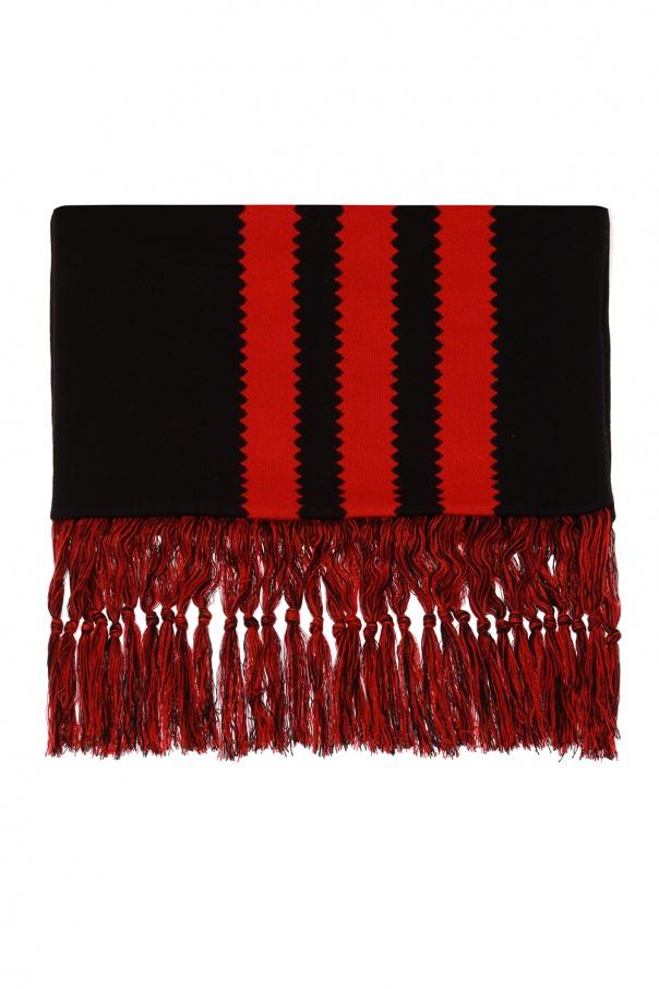 ADIDAS Originals Fringed scarf