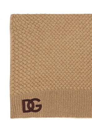 Scarf with logo od Dolce & Gabbana