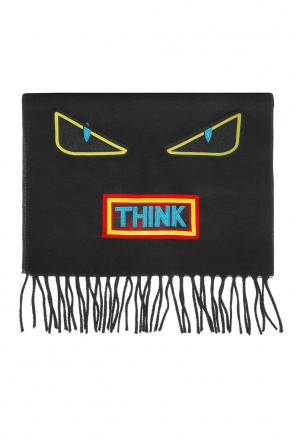 Eye motif scarf od Fendi