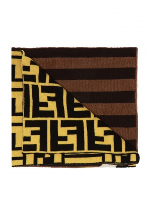 Striped scarf od Fendi