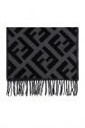 Fendi Cashmere scarf with logo