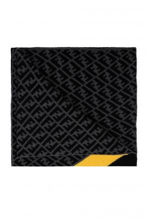 Logo scarf od Fendi