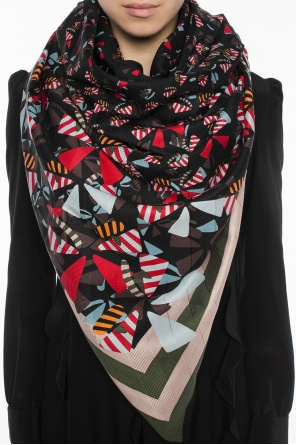 Patterned shawl od Fendi