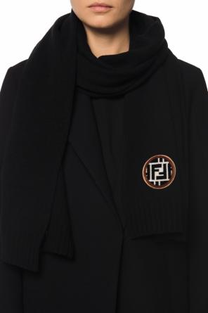 Scarf with a logo od Fendi