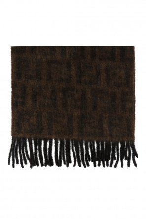 Fringed scarf od Fendi