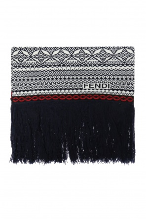 Patterned scarf od Fendi