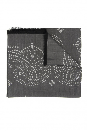 Patterned scarf with logo od Givenchy