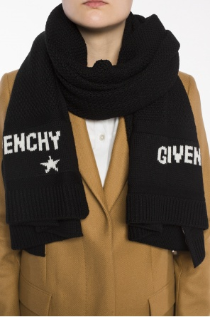 Logo-embroidered scarf od Givenchy