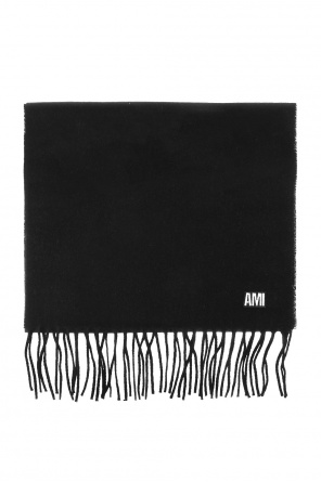 Scarf with fringes od Ami Alexandre Mattiussi