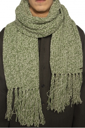 Woven scarf with fringes od Ami Alexandre Mattiussi
