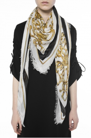 Patterned shawl od Versace