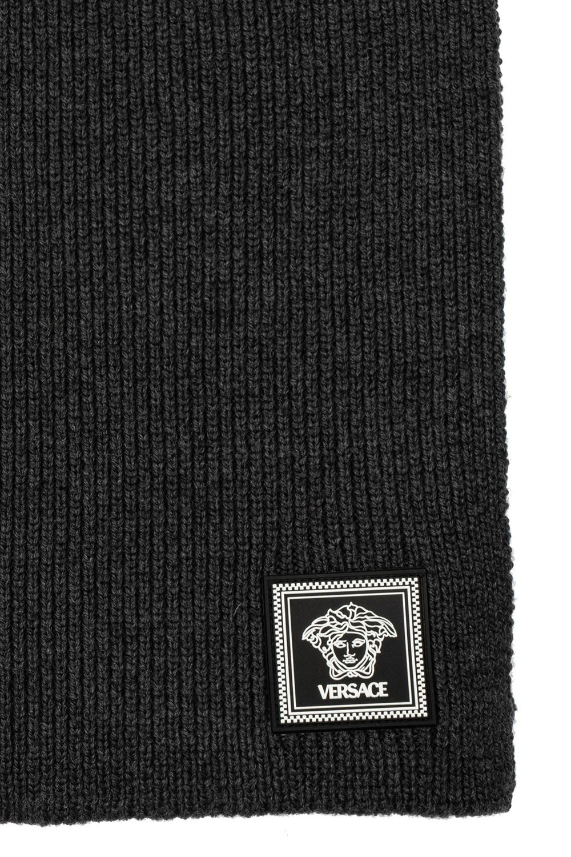 Versace Logo scarf