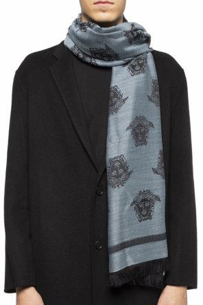 Embroidered scarf od Versace