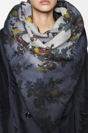 Floral pattern shawl od Golden Goose