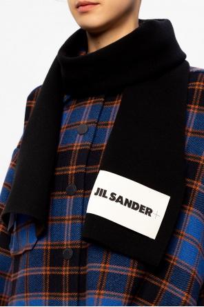 Logo scarf od JIL SANDER