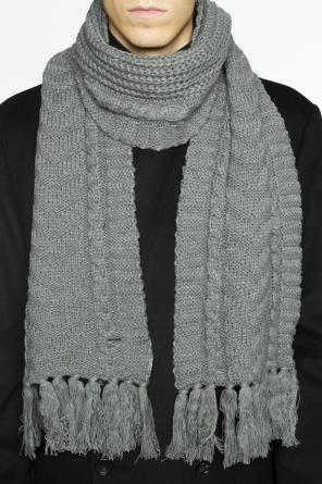 Braided scarf with fringes od Diesel