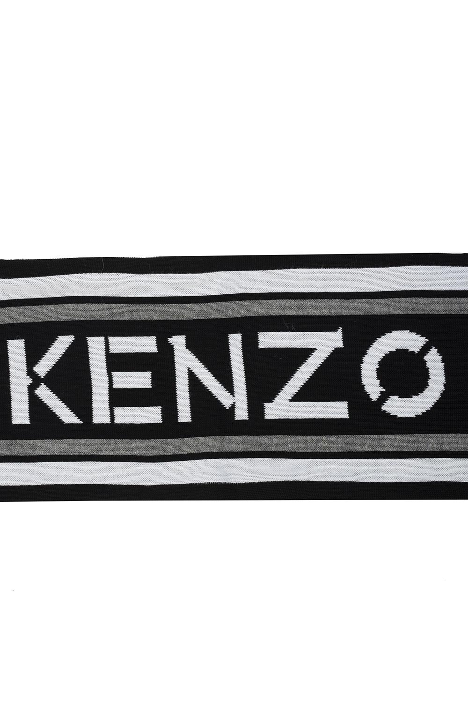 Kenzo Kids Scarf with logo