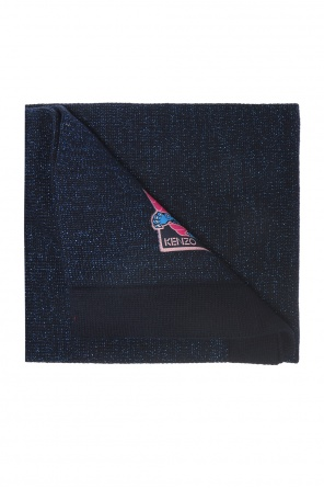 Scarf with a lurex thread od Kenzo Kids
