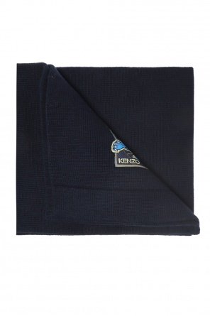 Scarf with a patch od Kenzo Kids