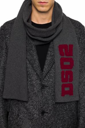 Logo-embroidered scarf od Dsquared2