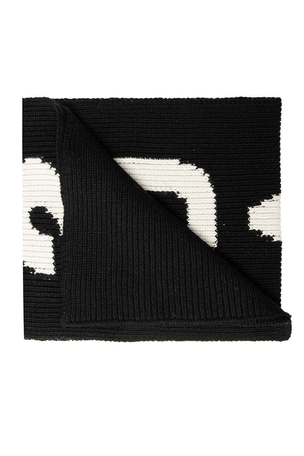 Dsquared2 Knitted scarf with logo