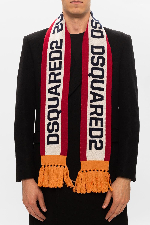 Dsquared2 Logo shawl