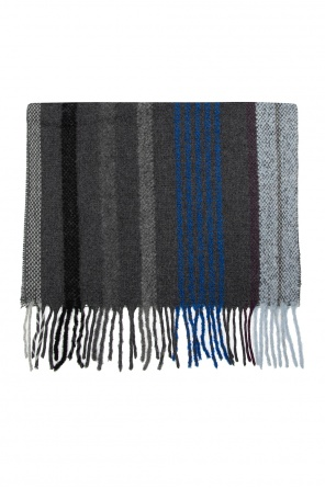 Wool scarf with fringes od Paul Smith