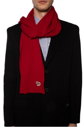 Logo-patched scarf od PS Paul Smith