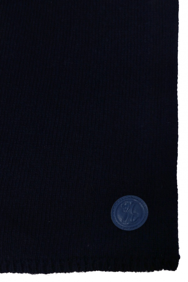 Logo-patched scarf od Billionaire