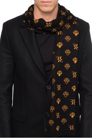 'paul' embroidered scarf od Billionaire