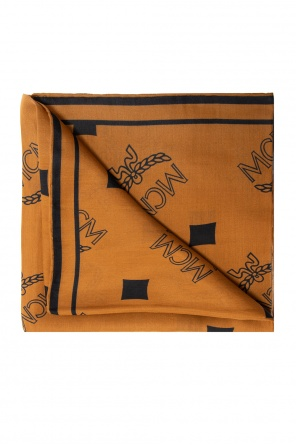 Patterned scarf od MCM
