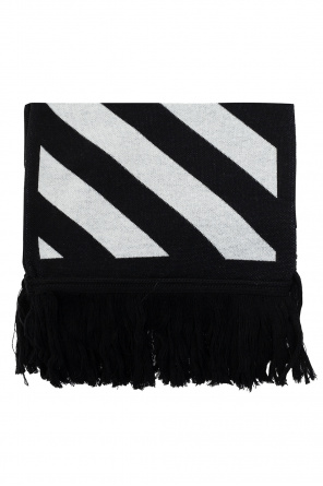 Scarf with logo od Off-White