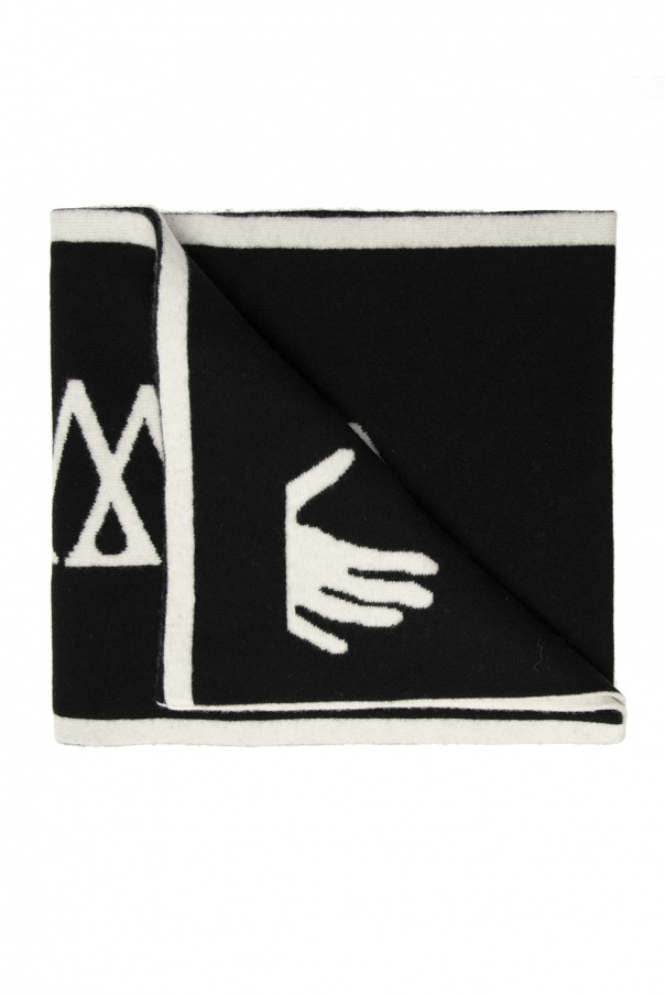 Off-White Scarf with logo