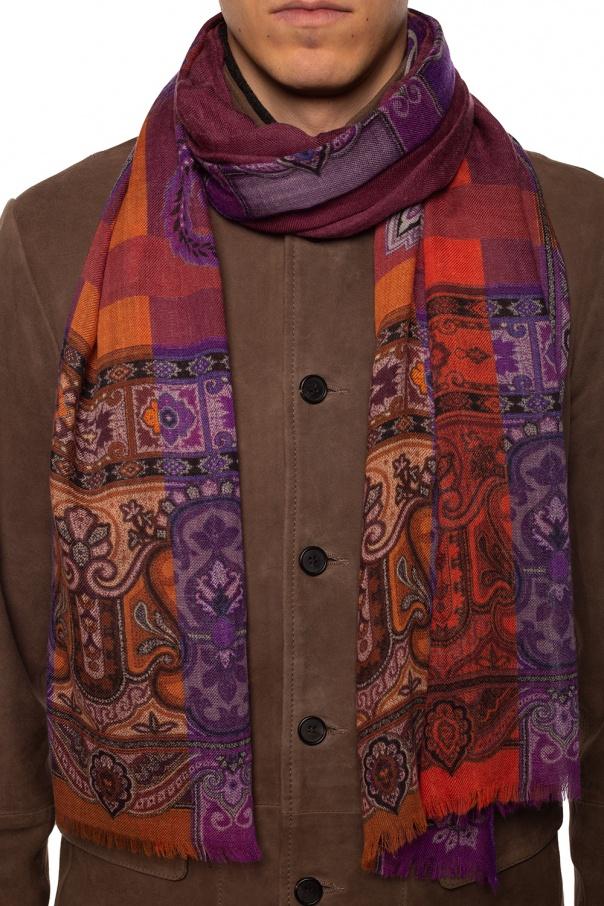 Patterned scarf od Etro