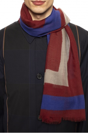 Scarf with logo od Etro