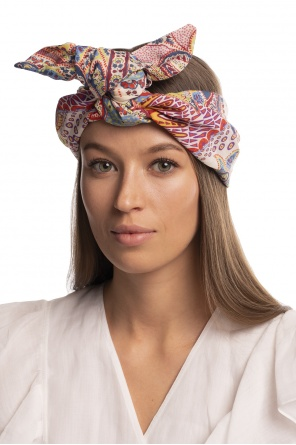 Patterned headband od Etro