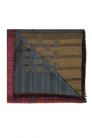 Patterned scarf with fringes od Etro