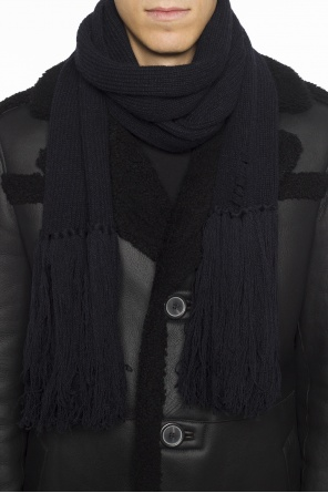Braided scarf with fringes od Lanvin