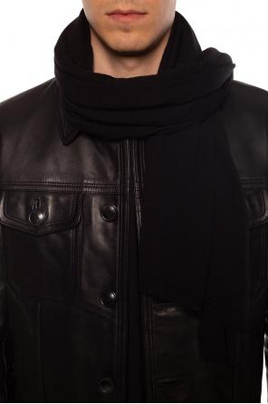 Wool scarf od Rick Owens