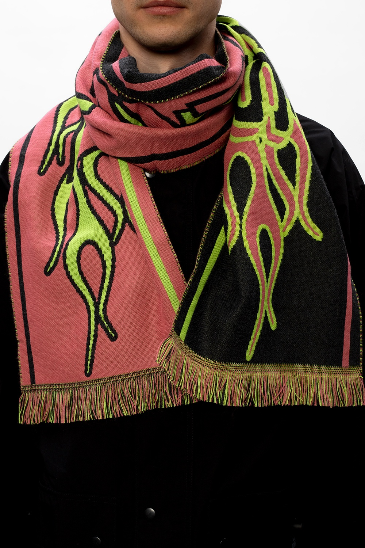 Diesel Logo scarf