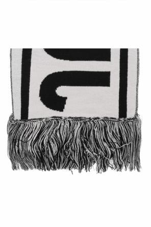 Logo-embroidered scarf od Just Cavalli