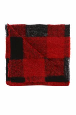 Checked scarf od Diesel