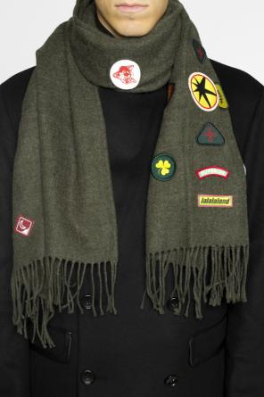 Colourful-patched scarf od Diesel