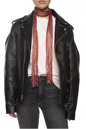 Fringed scarf od Dsquared2