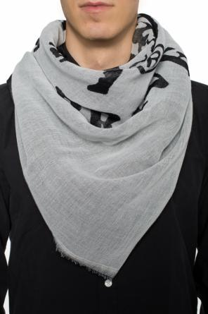 'smoika' patterned shawl od Diesel