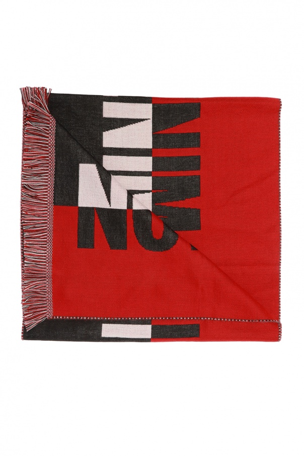 Branded scarf with lettering od Diesel