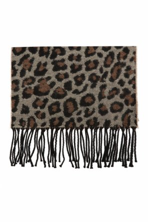 Patterned scarf with fringing od Paul Smith