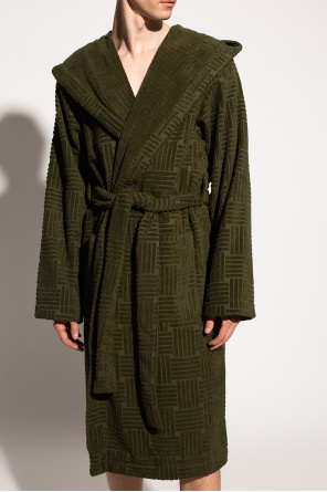 Patterned bathrobe od Bottega Veneta