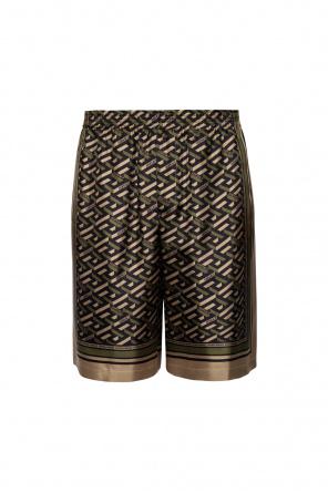 Silk shorts od Versace